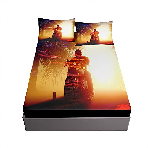 Spannbetttuch Bettlaken Set für...