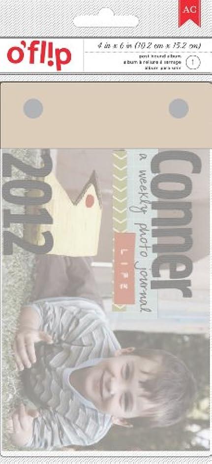 O'fl!p Postbound Flip Book Album 4