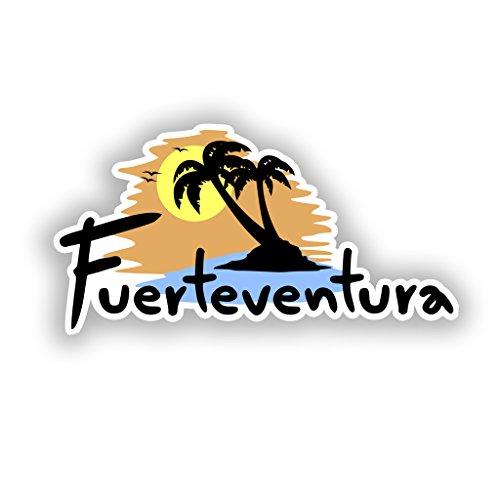 2x Fuerteventura Vinyl Aufkleber Reise Gepäck # 10308 - 10cm/100mm Wide