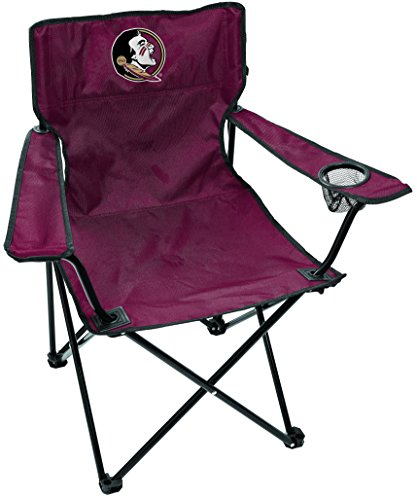 Rawlings NCAA Gameday Elite Lightweight Folding Tailgating Chair, with Carrying Case, Florida State Seminoles