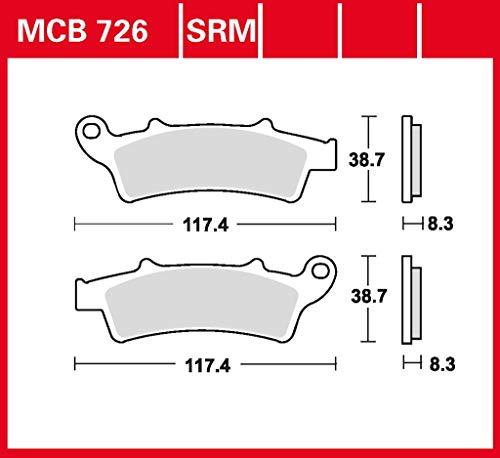 Pastillas de freno TRW Sinter Scooter Scarabeo 125 RB 07-11 delantero