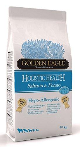 Golden Eagle Hypoallergenic 10kg Salmón patata Grain Free pienso perro