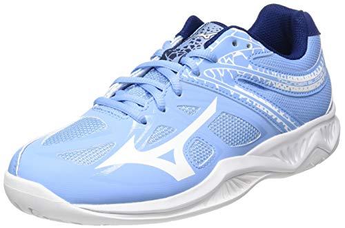 Mizuno Thunder Blade 2, Zapatillas de vóleibol Mujer, Dellarblue/Blancanieves/2768c, 39 EU