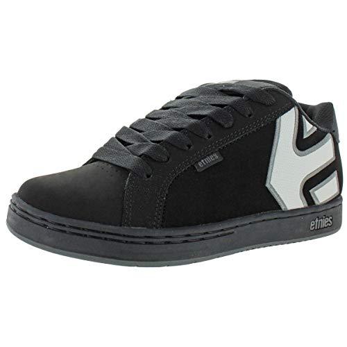 Etnies Mens Fader Skate Shoe, Black/Black/Reflective, 14 Medium US