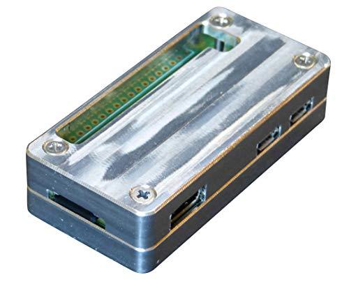 MANOUII Raspberry Pi Zero w Gehäuse Alu Passive Kühlung Case Cooling Aluminium