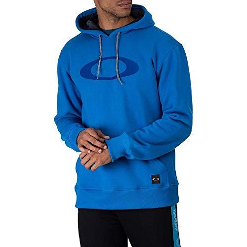 Moletom Oakley Fechado Blur Storm Hoodie Masculino Azul