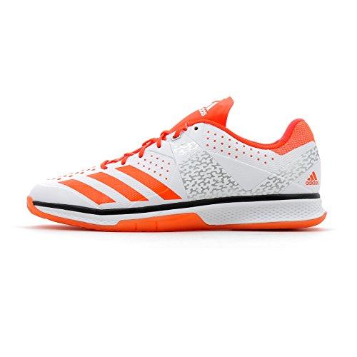 adidas Herren Counterblast Handballschuhe, Weiß (Ftwbla/Rojsol/Plamet 000), 48 EU
