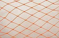 1×3メートルロープネットクライミングネット用子供カラーナイロンネット安全保護クライミング階段遊び場屋外パティオバルコニー (Color : Orange)