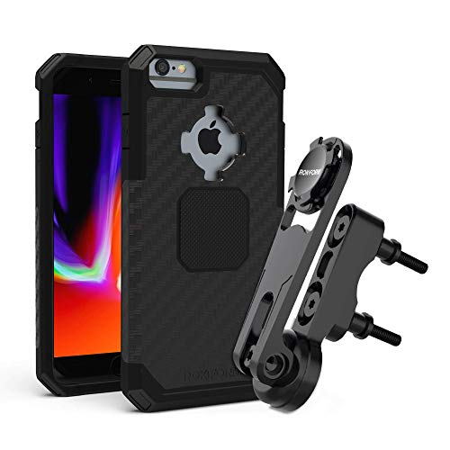 Rugged iPhone 8/7/6 Plus + Perch Motorcycle Mount
