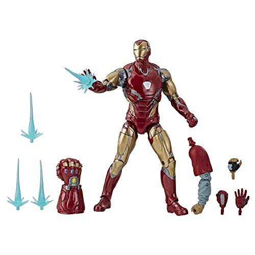 Avengers Marvel Legends Series Endgame 6' Collectible Action Figure Iron Man Mark Lxxxv Collection, Includes 7 Accessories