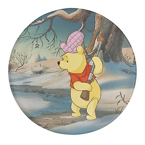 Pooh Bear - Imanes para nevera (cristal, 30 mm), diseño de oso