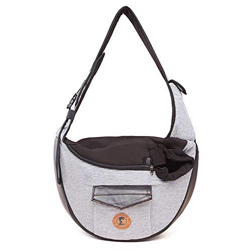 LANTENG Pet Out Tragetasche Pet Transporttasche Hund Tasche Atmungsaktiv Katze Rucksack Falttasche