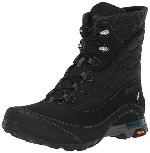 Ahnu Women's W Sugarfrost Insulated Waterproof Snow Boot, Black, 09.5 M US