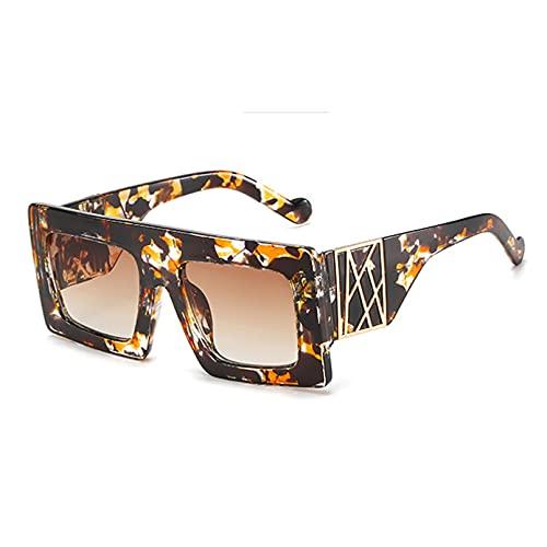 LUOXUEFEI Gafas De Sol Gafas De Sol Mujer Cuadradas Para Mujer Gafas De Sol De Gran Tamaño Mujer