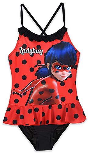Miraculous Ladybug Bambina Costume da Bagno Un Pezzo