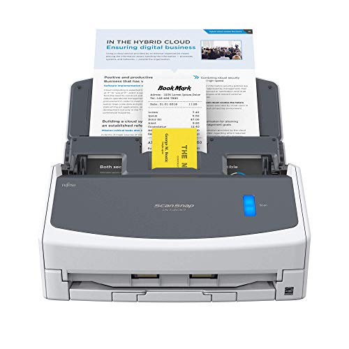ScanSnap iX1400 Document Scanner – A4, Duplex, Double Sided, ADF USB 3.2 Desktop Scanner