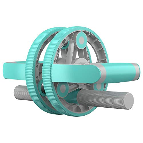 LFJY Dispositivo de Aptitud Multifuncional Rueda Abdominal Rueda de músculo Abdominal Masculino y Femenino Fitness Rally,Blue