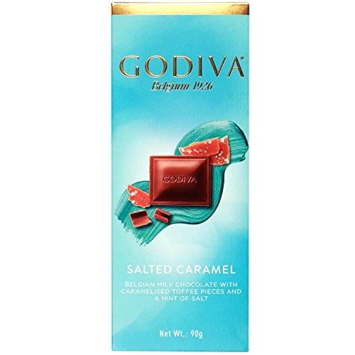 Godiva Gesalzene Karamell Belgische Milch Schokolade, 90g