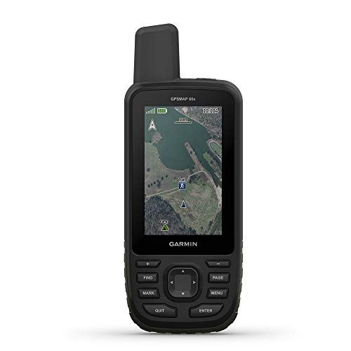 "Garmin GPSMAP 66s, Handheld Hiking GPS with 3"" Color Display and GPS/GLONASS/GALILEO Support"