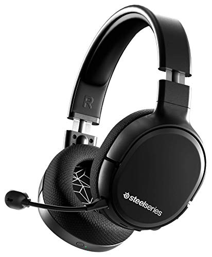 SteelSeries Arctis 1 Wireless - Cuffie da Gioco Wireless USB-C Wireless - Microfono Clearcast Rimovibile - Per PlayStation 5, PS4, Nintendo Switch, Android