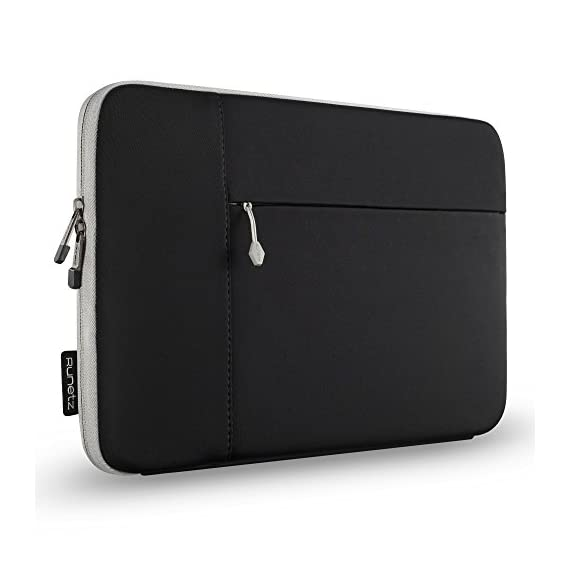 "Runetz Sleeve for MacBook 12 inch Sleeve Neoprene Case with Accessory Pocket with Retina Display and fit Other Laptop up… 1 MACBOOK PRO 13 INCH SLEEVE ★ Best Design Neoprene Sleeve with Pocket for MacBook Pro 13 inch and other 13 inch Laptop Computers like: MacBook, Lenovo ThinkPad, Surface Book, Dell, Samsung Chromebook, HP, Sony and other (please check measurements) MEASUREMENTS AND SIZES ★ EXTERIOR 13.7"" x 10"" x 1"" inch ★ INTERIOR 13"" x 9.4"" x 0.8"" inch. Your most valued MacBook Pro 13 inch deserves no less than the ultimate protection from scratching, scuffing, and dents, a Top-Quality Guarantee provided by Runetz 13.3 INCH LAPTOP SLEEVE ★ Made from Premium quality Neoprene, the Runetz MacBook Sleeve is precision engineered to provide maximum protection for your precious laptop 13.3 inch while allowing a snug fit without adding any extra bulk. Ensure Maximum Grip"