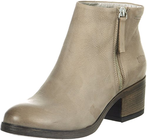 SHOOT Damen Shoes SH-15026 Sommer Stiefelette Booties Biker Boots, Braun (Malto), 40 EU