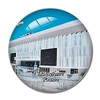 フランス La Defense冷蔵庫マグネットホワイトボードマグネットオフィスキッチンデコレーション
