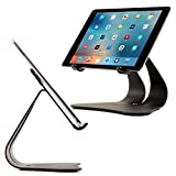 Thought Out Stabile 2.0 Stand Black - Made in USA - Compatible with Apple iPad, Pro, Air, Air 2, 12.9, 11, 10.2, 10.5, 9.7, Surface Galaxy Tablet Holder