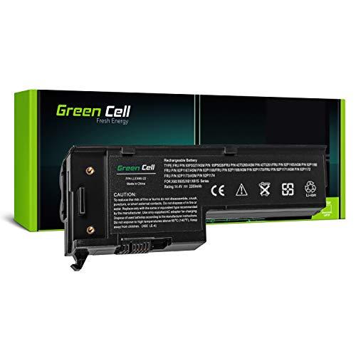 Green Cell® Standard Serie 92P1168 Laptop Akku für Lenovo IBM ThinkPad X60 X60s X61 X61s (4 Zellen 2200mAh 14.4V Schwarz)
