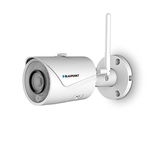 Blaupunkt VIO-B30 Cámara de Seguridad Exterior, IP WiFi Cámara inalámbrica Exterior, 1296P HD Cámara Impermeable, visión Nocturna, detección de Movimiento. Nube privada y compatibilidad ONVIF