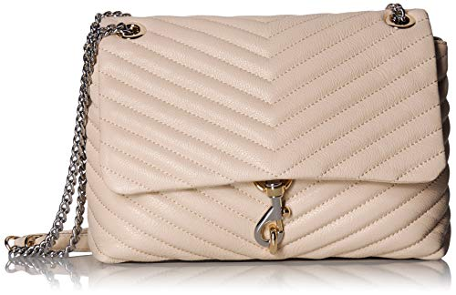 Rebecca Minkoff Edie Flap Shoulder Bag Clay One Size