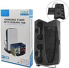 Suporte Cooler Carregador 3 USB PlayStation 5 Digital Ultra Base
