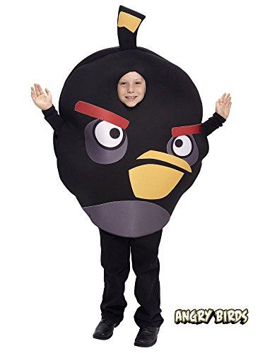 Angry Birds - Kinderkostüm - Schwarz - OneSize
