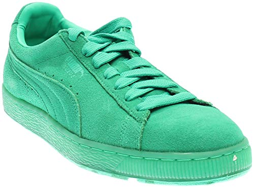 PUMA Mens Suede Classic Ice Mix Casual Sneakers, Green, 9.5