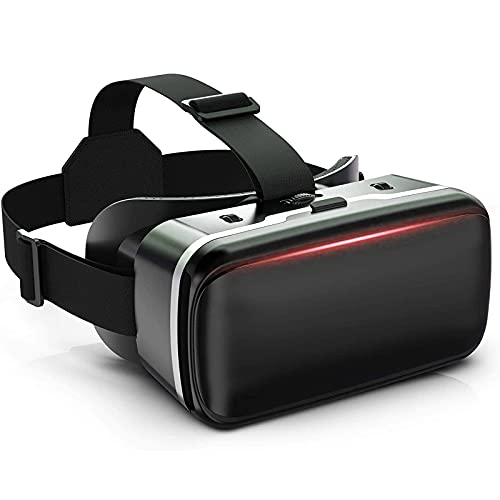 VR Headset, VR 3D Glasses Goggles HD Virtual Reality Headset Compatible with Phone & Android Phone...