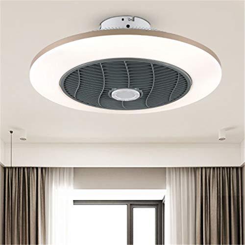 Modern Smart Deckenventilator Licht Bluetooth APP Fernbedienung Heizung Und Kühlung Frequenzumwandlung LED Deckenlampe Leise Dimmen 3 Geschwindigkeiten