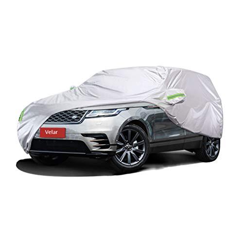 Couverture de voiture Range Rover Velar Spécial Couverture de voiture SUV épais Oxford Tissu Protection contre le soleil Couverture chaude anti-pluie Couverture de voiture (taille : 2019)
