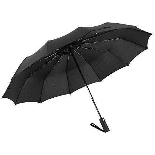 2400/5000 sneldrogende reisparaplu Oversized paraplu dubbele winddichte, geventileerde dubbele paraplu, draagbare compacte opvouwbare lichtgewicht en hoge windbestendigheid