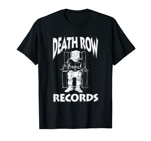 Death Row Records White Logo T-Shirt