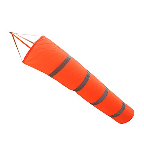 Fastar Rip-Stop Manche à air pour aéroport avec ceinture réfléchissante, drapeau résistant aux intempéries, 150 cm