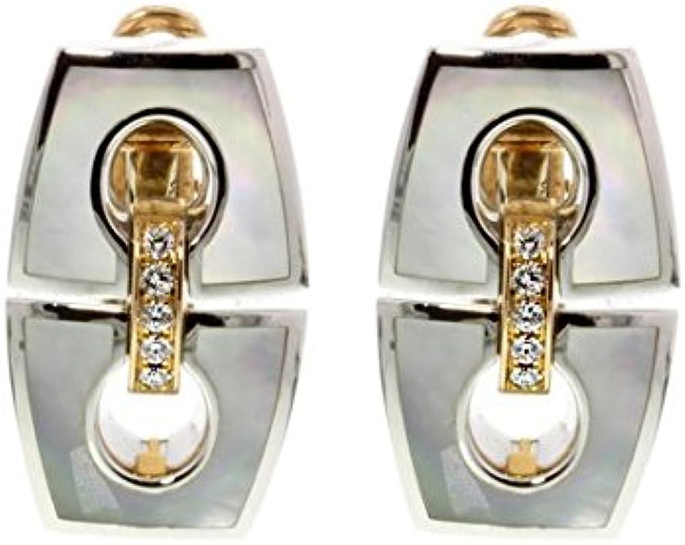 Chimento,orecchini per donna,in oro bianco e rosa 1O07925B1700P