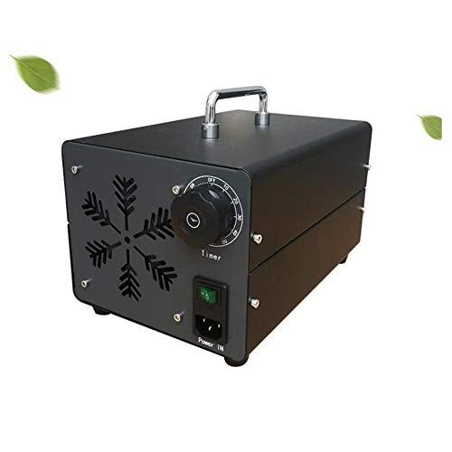 Generador de ozono casero ZXKGLE O3 Máquina de ozono móvil Esterilizador de Aire Comercial Generador de ozono 50㎡ para Interior, hogar, Oficina y Barco-Negro