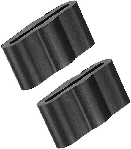 SyVia 8268961 Dishwasher Sleeve Friction Pads Fit For Whirlpool Kenmore Dishwasher, Replaces WP8268961 PS731965 Dishwasher Friction Pad Pack of 2