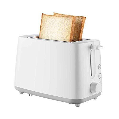 Llpeng Mini Tostadora, 2 Mini tostadoras automática con 6 Variable de Control Browning/Pies de Silicona Antideslizante