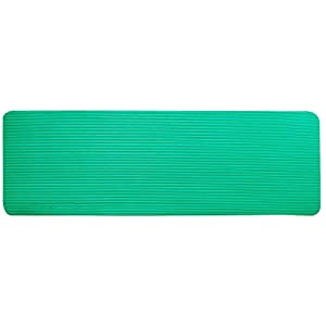 BalanceFrom Go Yoga All Purpose Anti-Tear Exercise Yoga Mat with Carrying Strap, Green