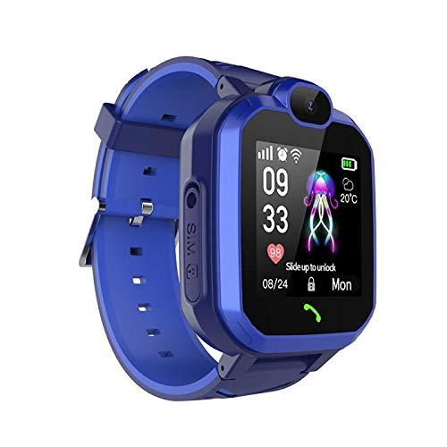 Kinder-Smartwatch mit Telefon, IP67, wasserdicht, LBS Smartwatch für Kinder, Positionierung von Anrufen, 2G SIM-Karte, Fernbedienung, Locator Uhr für Jungen und Mädchen