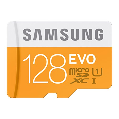 『Samsung microSDXCカード 128GB EVO Class10 UHS-I対応 (最大転送速度48MB/s) MB-MP128DA/FFP』の1枚目の画像