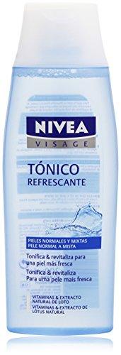 Nivea Visage Tónico Refrescante para Piel Normal, Cara y Rostro - 200 ml