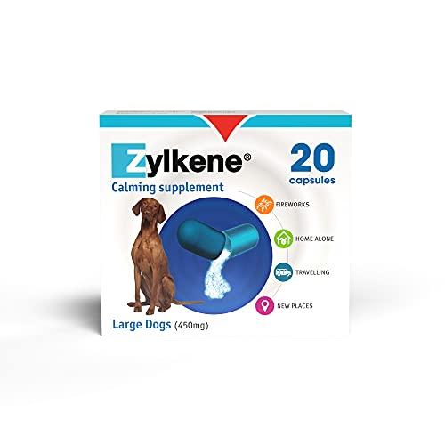 Zylkene - Integratore in capsule per cani e gatti - Pacco da 20 (20 x 450mg) (Assortiti)