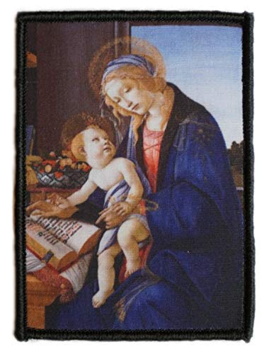 Sandro Botticelli Morale Patch Hook and Loop A0521 (Madonna with The Child)